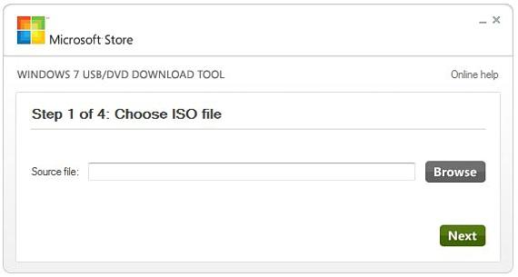 01 Windows 7 USB-DVD Tool