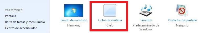01 color de las ventanas en Windows 7