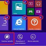 ¿Sabías que se puede hacer una selección múltiple de azulejos en Windows 8.1?