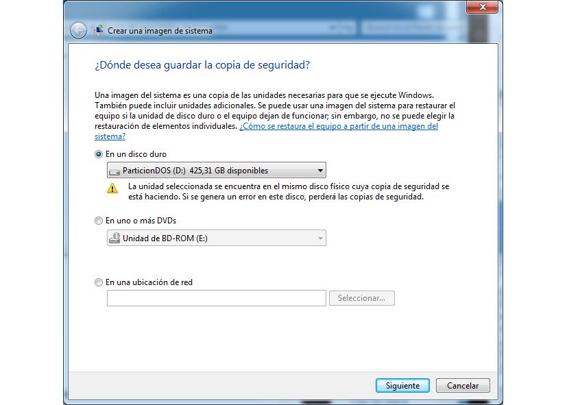 03 Imagen del Sistema en Windows 7