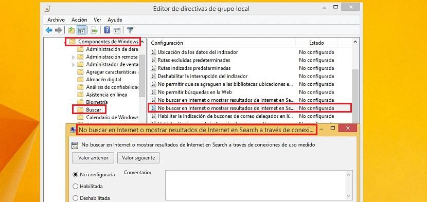 03 busquedas en Windows 8.1