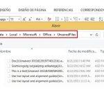 Como recuperar archivos sin guardar en Word 2013