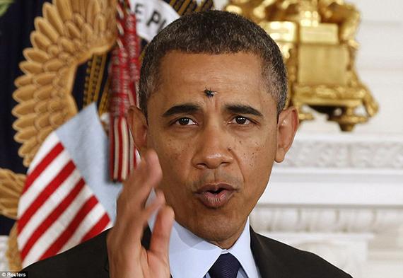 Una de las fotos del año de Obama, en la Casa Blanca el 24 de enero. [Las mejores fotos de Obama según el fotógrafo de la Casa Blanca]