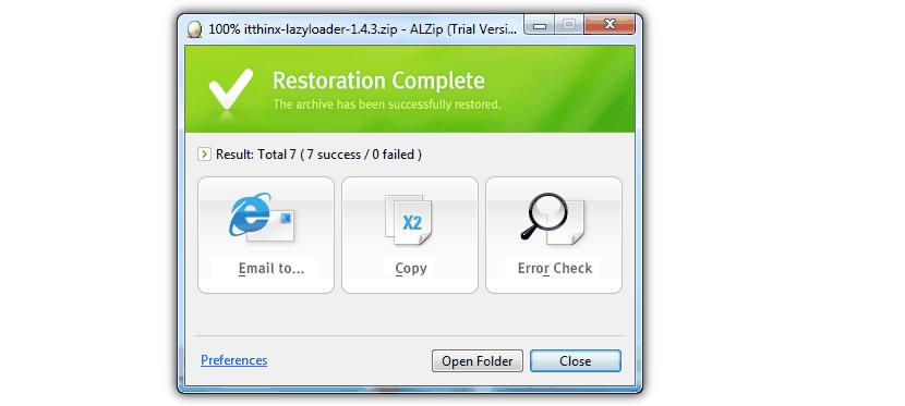 ALZip-restore-archive