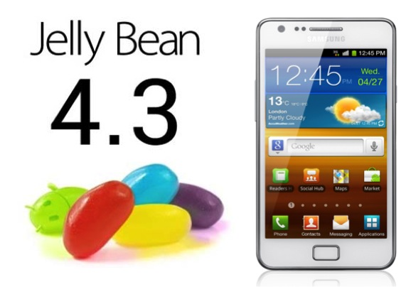 ANDROID 4.3. GALAXY S2