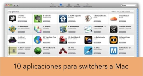 10 aplicaciones imprescindibles para un switcher a Mac