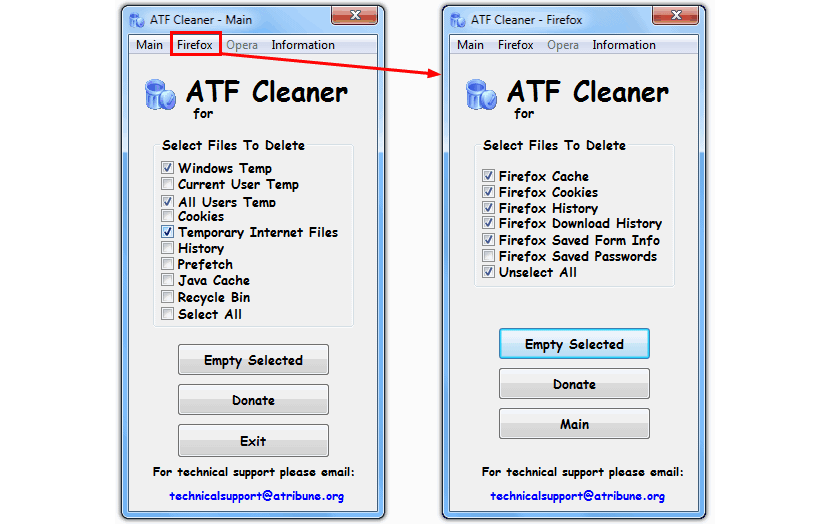 ATF-Cleaner