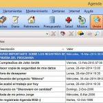 Como organizar una agenda de actividades con Agenda MSD en Windows