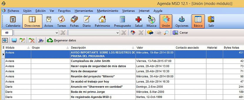 Agenda MSD 11