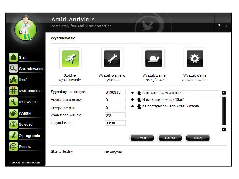 Amiti Free Antivirus 01