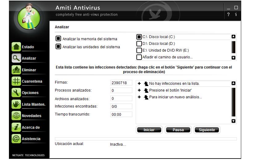 Amiti Free Antivirus 02