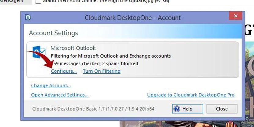 Bloquear correo spam con DesktopOne 06