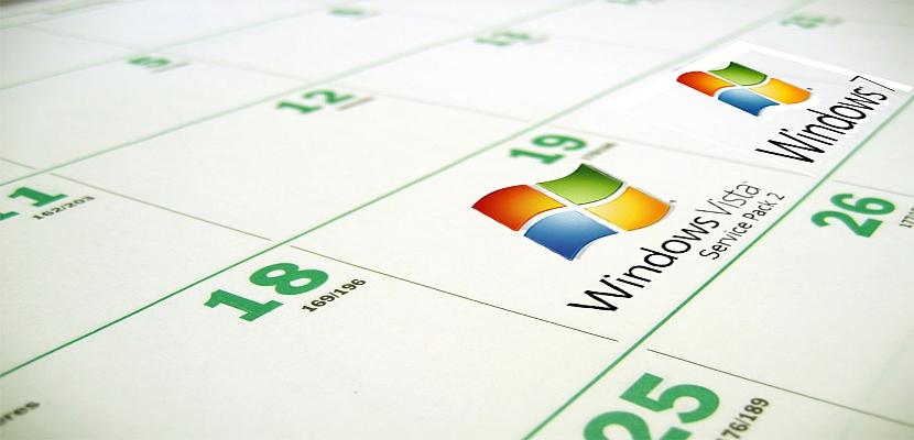Calendario en Windows 7