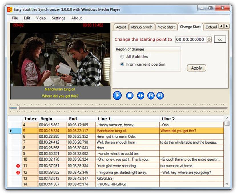 Easy-Subtitles-Synchronizer