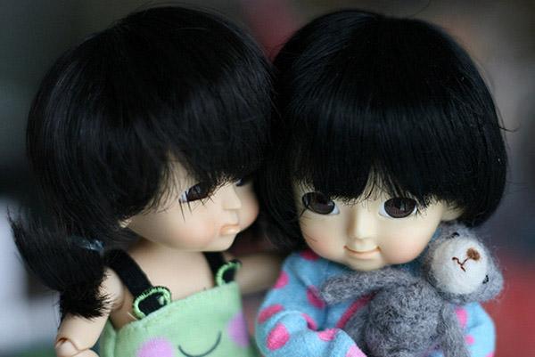 kaeru  and emiko