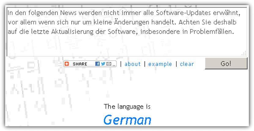 Language Identifier