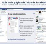 Guía  para la nueva página de  inicio de Facebook