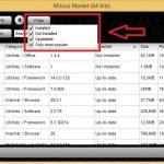 Buscar actualizaciones para nuestras aplicaciones con Milouz Market