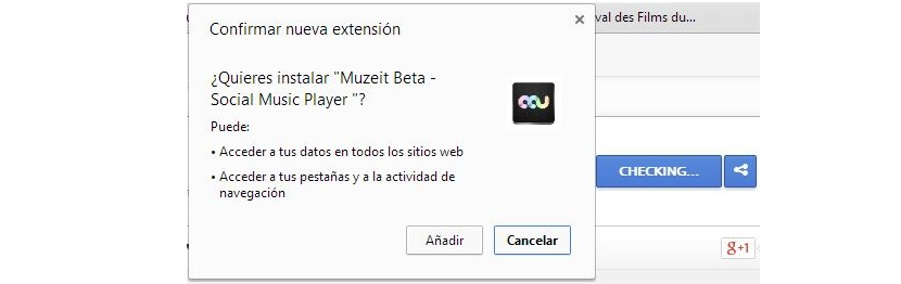 Muzeit para Google Chrome 01