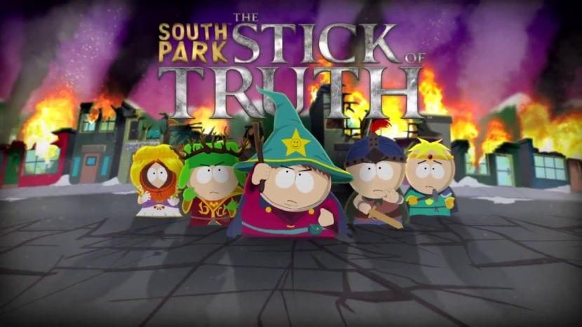 South Park Stick Of TruthLogo-