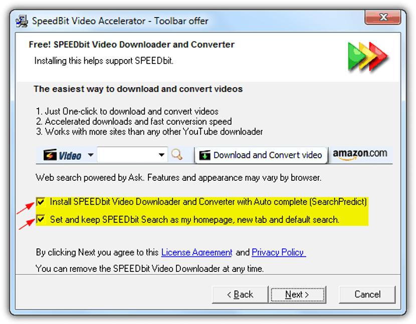 SpeedBit Video Accelerator 01