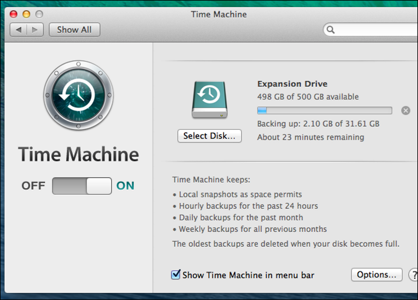 Time Machine en un MacBook 04
