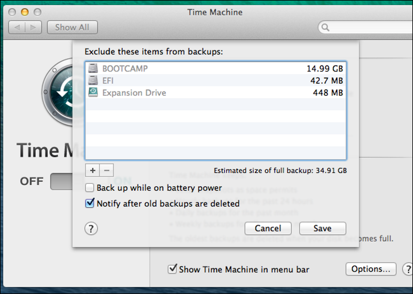 Time Machine en un MacBook 05