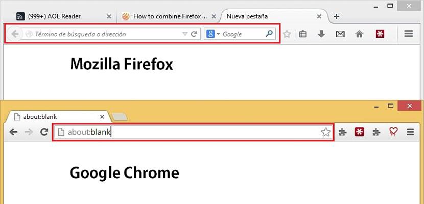 Unificar barras en Firefox