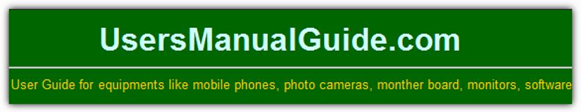 UsersManualGuide