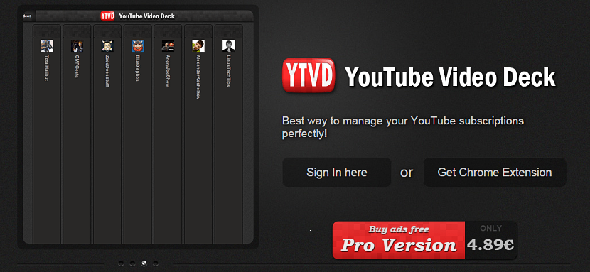 Video Deck for Youtube