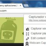 Cómo capturar todo tipo de pantallas en la web con Webpage Screenshot