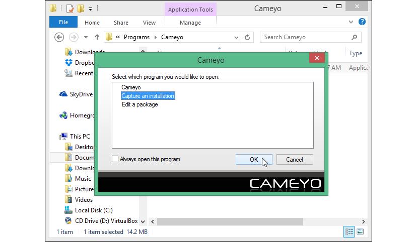 aplicaciones portátiles con Cameyo 02