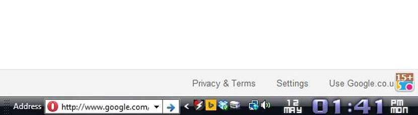 barra de direcciones en Windows