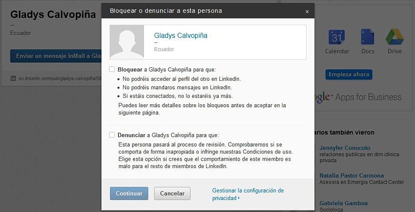 bloquear en LinkedIn 01