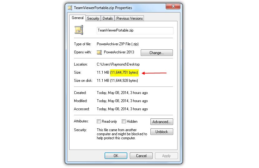 check-file-size