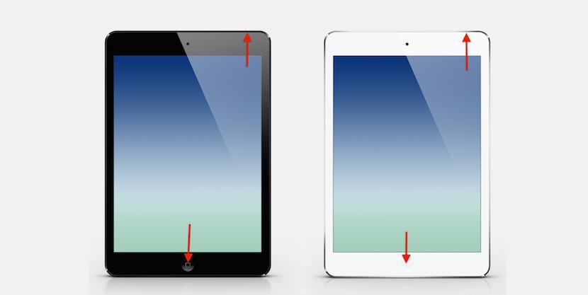 como hacer una captura en el iPad