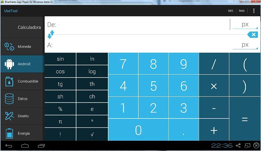 conversor de unidades en Android 03
