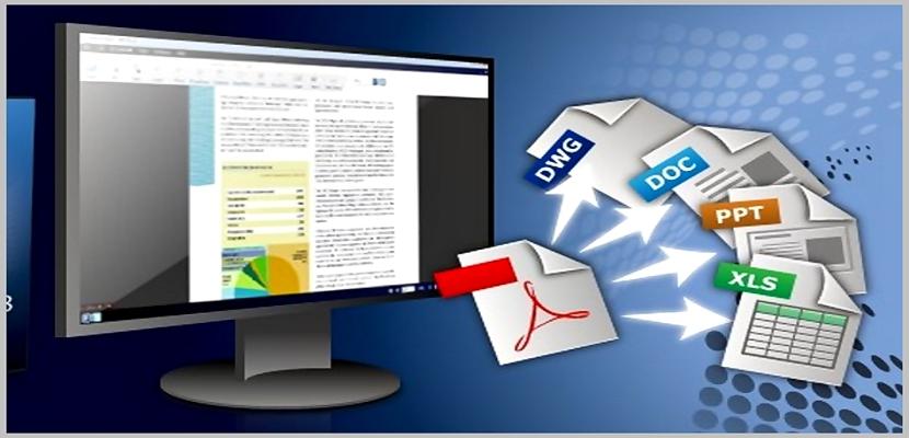 convertir ficheros PDF a otros formatos
