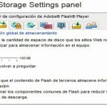 Cómo desactivar los cookies de Adobe Flash Player en Windows 8.1