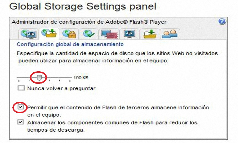cookies de Adobe Flash Player 01