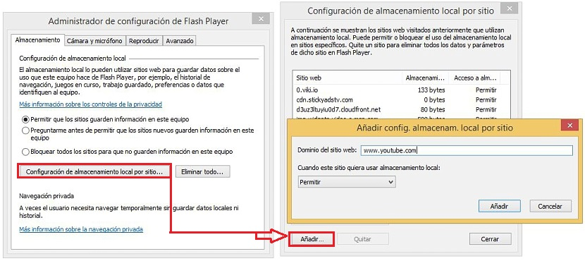 cookies de Adobe Flash Player 03