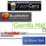Cómo crear una cuenta de correo temporal