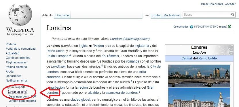 crear un eBook de Wikipedia 01