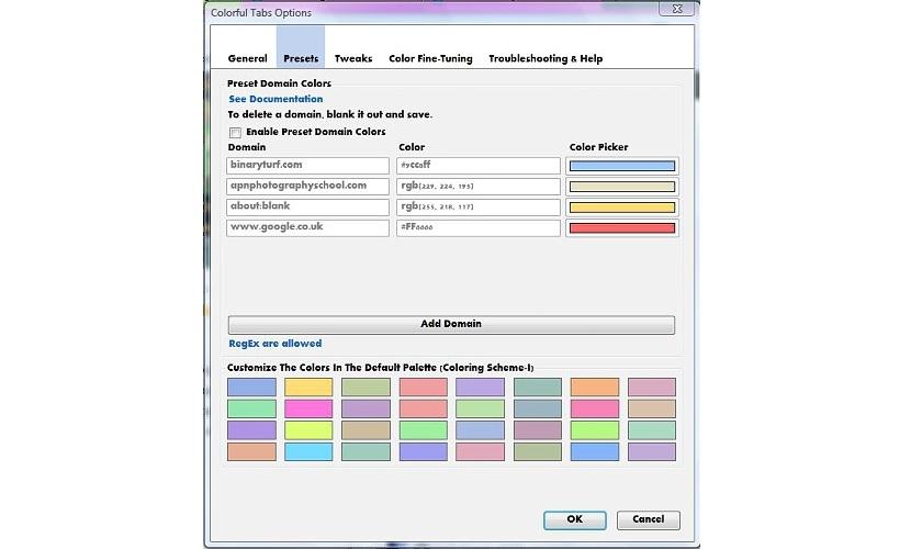 diferentes colores en Firefox 02