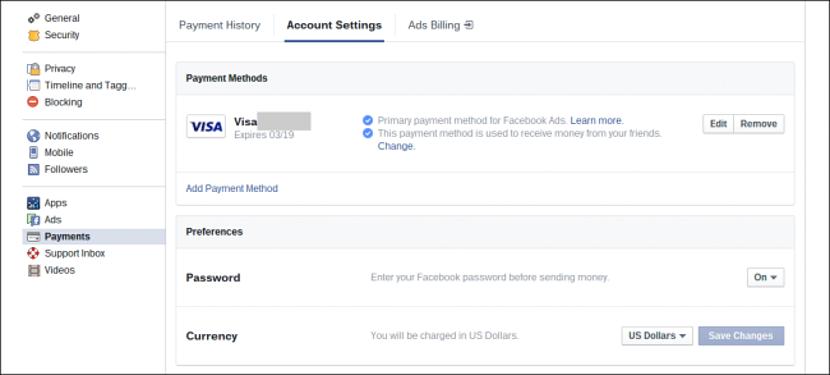 enviar dinero por Facebook Messenger 02