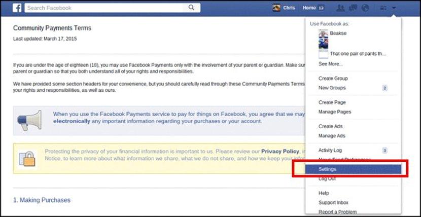 enviar dinero por Facebook Messenger 03