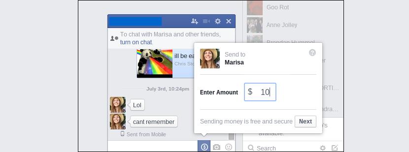 enviar dinero por Facebook Messenger 05