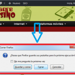 """Truco: Activar """"Guardar Pestañas Abiertas"""" en Firefox"""