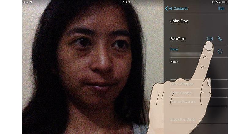 hacer Facetime en el iPad 03