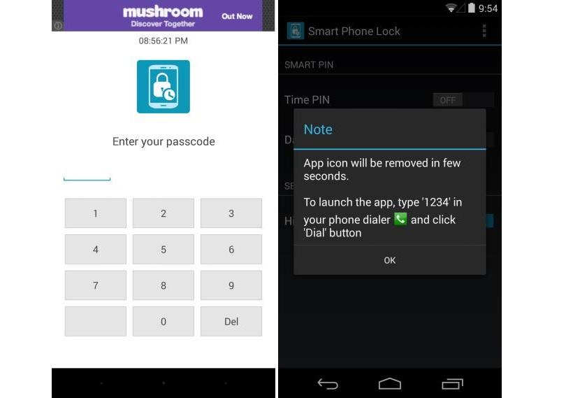 Cambiar el pin de desbloqueo del dispositivo Android según la hora del día